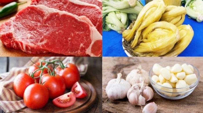 Canh dưa bò bảo nhiều calo; nấu với gì; ăn; thịt hầm cải; nấu canh chua; bảo quản được bao lâu;