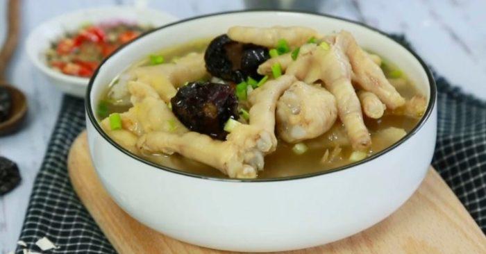 Cách nấu canh gà kiểu Trung Quốc chuẩn vị thơm ngon, ba bi nau an, hướng dẫn cách làm ngon.
