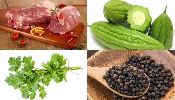 Cách nấu canh khổ qua giữ màu xanh, cac mon an de lam, do an ngon, mẹo ăn ngon, lam nau an, day.