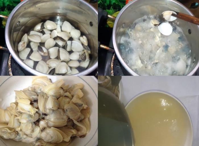 cách nấu canh rau mồng tơi tôm khô, với mướp ngon, thịt băm, thịt bò, tép khô, cua đồng, đơn giản.