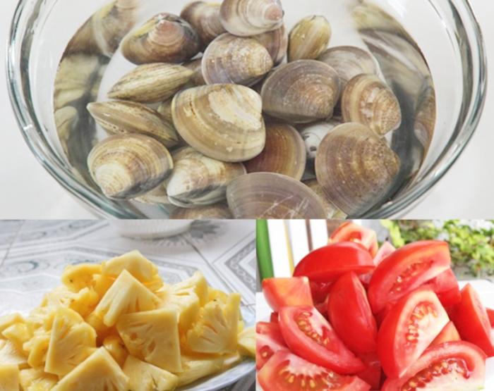 Canh ngao nấu chua; hướng dẫn; nhà hàng; danh sách; an gi day; canxi; tốt; nhóm thực phẩm; 365 món;
