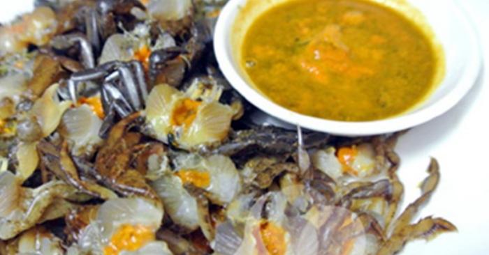 Cách nấu riêu cua dọc mùngchế biến món ăn; coi nau an; những món ngon; nhung mon an com hang ngay.