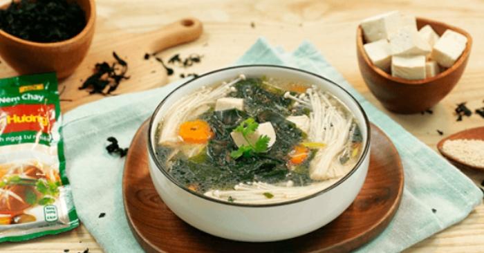 Cách nấu món cháo rong biển; mẹo nấu ăn ngon; lam nau an; day nau an don gian; món an hang ngay