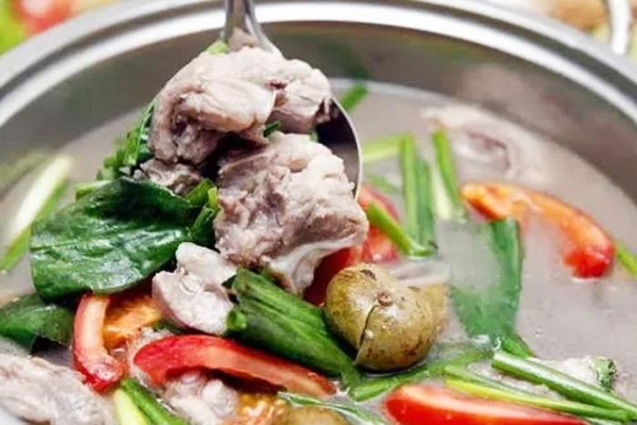 Cách nấu canh sấu sườn non thanh mát bổ dưỡng cho gia đình; xương chua; tốt cho sức khỏe; bắp;