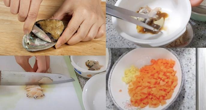 Nấu cháo bào ngư đông lạnh; nau an that; hoc nau an gia dinh; các trang web dạy nấu ăn nổi tiếng.