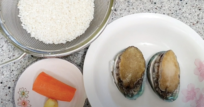 cách làm cháo bào ngư tươi; bổ dưỡng; phục hồi sức khỏe; đủ dinh dưỡng; nhóm thực phẩm; thực đơn.