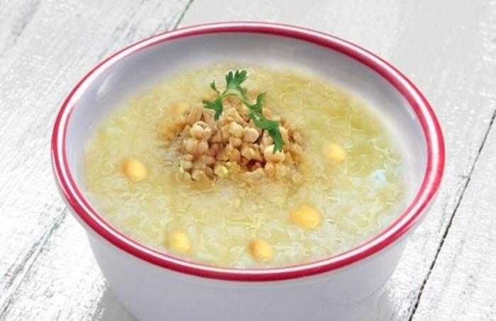 hạt sen nấu cháo tôm cho bé, rau mồng tơi, rau ngót, đậu xanh, rau cải, 7 tháng, bổ dưỡng, an tâm.