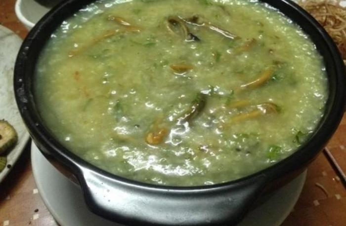 Cháo lươn bí đỏ bé ăn nhanh, chóng lớn, những món ăn đơn giản cho sinh viên, thuc an nhanh de lam