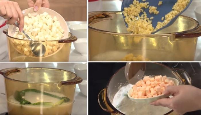 cách nấu chè thưng ngon, khoai lang, đơn giản, hạt sen, để bán, dễ tìm, dễ làm, thực hiện, ở Sài Gòn