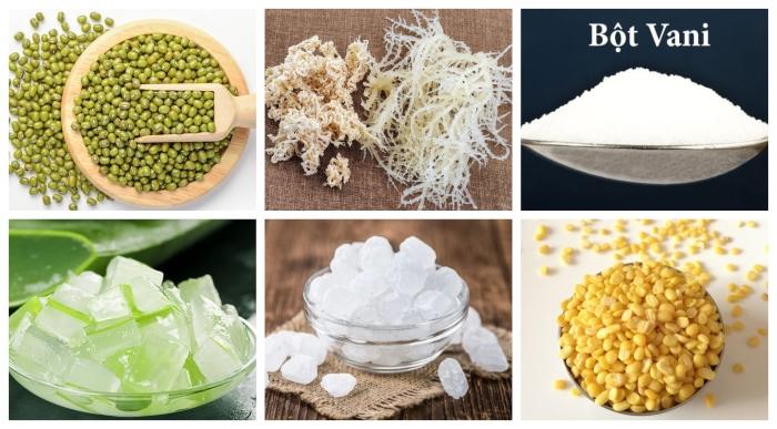 Nấu chè đậu xanh; nha đam nước cốt dừa; mứt hạt sen; thơm ngon đậm vị; tốt cho sức khỏe; bí kíp;