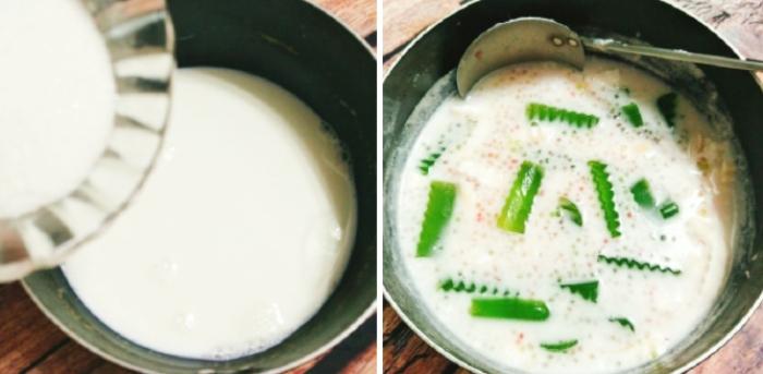 Mẹo nấu chè dừa nước; thanh mát; chp gia đình; giải nhiệt mùa hè; nắng nóng; lạ miệng; hay nhất;