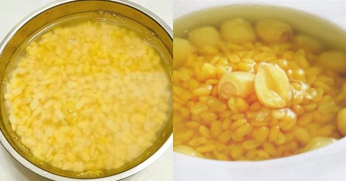 Cách nấu chè hoa cau ngon ngọt thơm lừng chuẩn vị Hà Nội; cac mon an de lam; do an ngon; dễ làm.