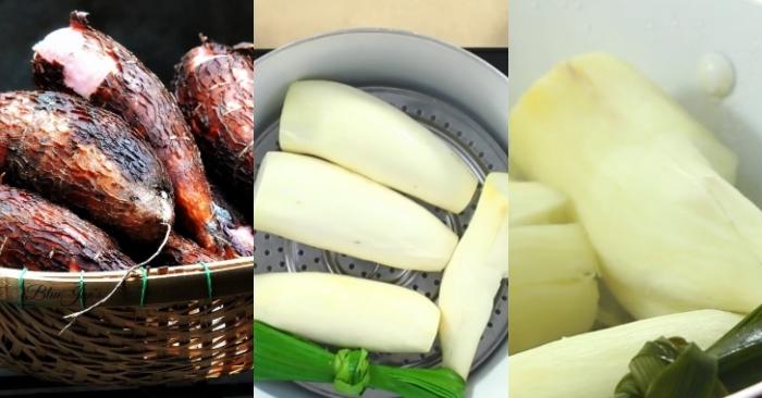 Cách nấu chè khoai mì viên; mon ngon nha lam; những; mon an ngon; dễ làm; hướng dẫn cách làm; ngon