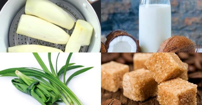 Hướng dẫn cách nấu chè khoai mì ngon miệng dễ làm tại nhà; ẩm thực; cong thuc; món ngon; hoàn chỉnh.