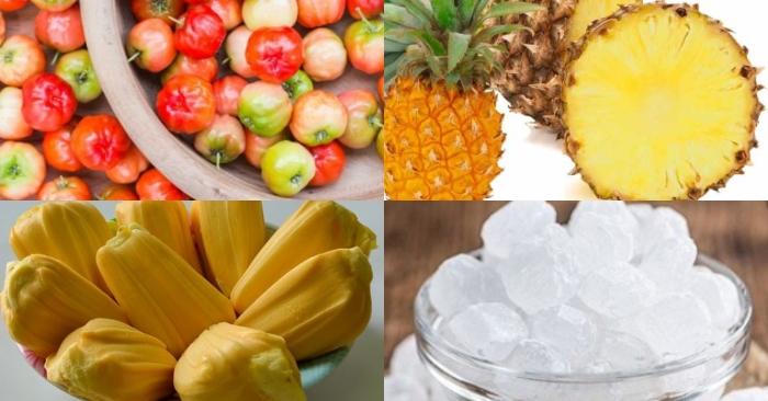 Bật mí cách nấu cocktail sơri chua ngọt mát lạnh; ăn ngon; hàng ngày; công thức; dễ làm; chế biến.
