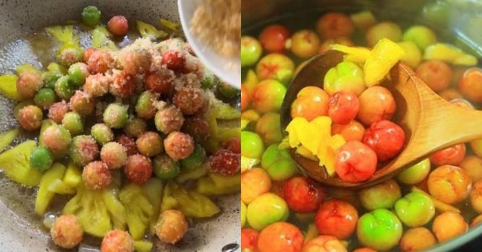 Cách làm cocktail trái cây sơ ri đu đủ; món ăn ngon; hàng ngày; nấu ăn; công thức; dễ làm; mỗi ngày.