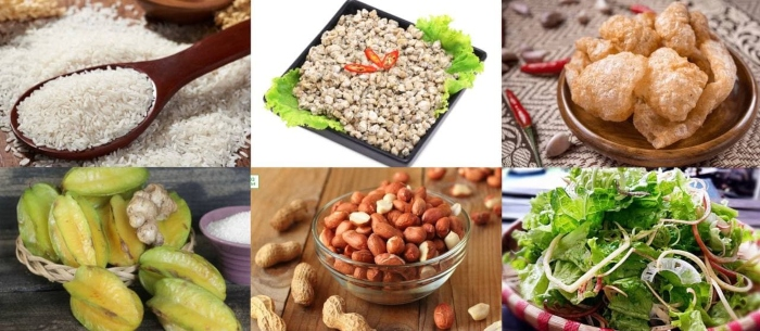 cách nấu cơm hến đơn giản tại nhà, nguyên liệu làm, quảng ngãi, sài gòn, hà nội, chiên, hương vị.