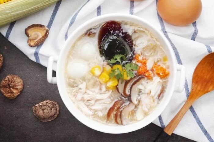 Súp cua trứng bắc thảo Hai Bà trưng Hà Nội; nấm đông cô; chùa láng; Sài Gòn; không bị chảy nước;