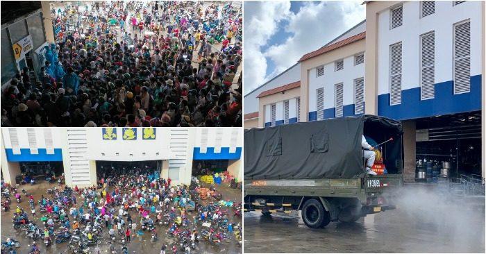 Toàn cảnh khu chợ Bình Điền - chợ đầu mối lớn nhất TP. HCM trước và sau khi bị đóng cửa