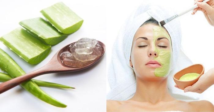 sau khi đắp mặt nạ nha đam, các bạn nên chống nắng và bảo vệ da kĩ càng trước khi ra ngoài.