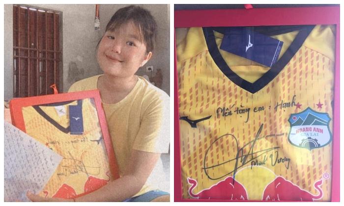 Món quà ý nghĩa chắc chắn giúp Trần Thị Hạnh có thêm nhiều động lực