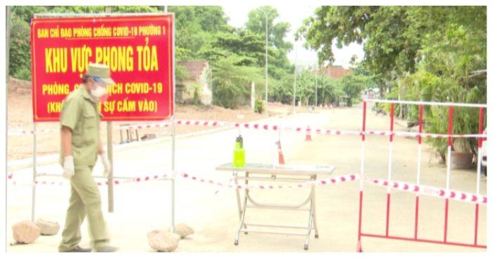 Nhiều chốt phong tỏa được thực hiện tại tỉnh Phú Yên.