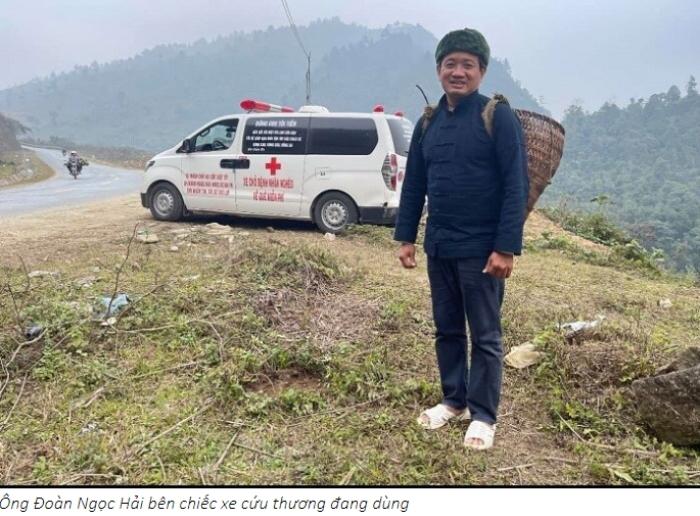 Nghệ sĩ Việt Hương tặng ông Đoàn Ngọc Hải xe cứu thương gần 3 tỷ đã về tới Việt Nam