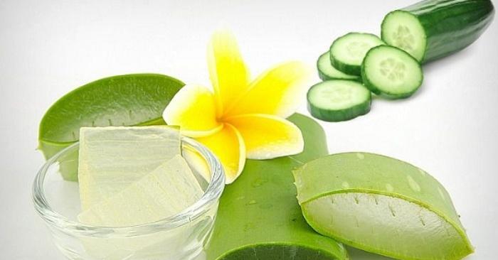 Tác dụng chăm sóc làn da tuyệt vời của sữa rửa mặt E100 nha đam; kết hợp; sau đó; làm trắng da.