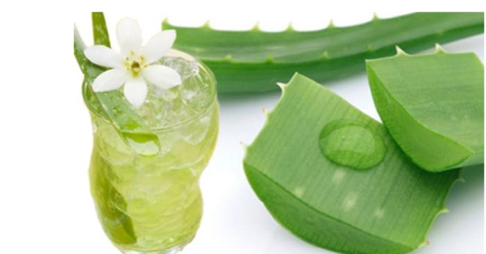 9 tác dụng tuyệt vời của nước nha đam đường phèn với sức khỏe; cải thiện; nám tàn nhang; nước gạo.