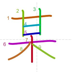 Học từ vựng tiếng Trung có trong sách Chuyển Pháp Luân - chữ mỗ; học tiếng trung; học tiếng trung; từ vựng tiếng trung; học tiếng trung cơ bản
